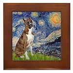 Starry / Boxer Framed Tile