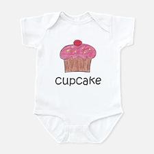 Pink Cupcake Infant Bodysuit