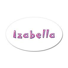 Izabella Pink Giraffe Wall Decal