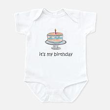 It's My Birthday Infant Bodysuit