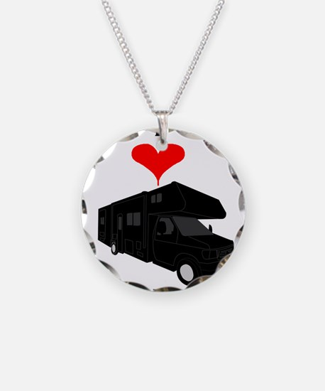 I Love RVing Necklace