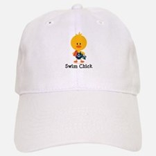 Anchor Swim Chick Baseball Baseball Cap