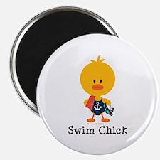 Anchor Swim Chick Magnet
