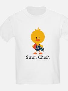 Anchor Swim Chick T-Shirt