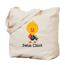 Anchor Swim Chick Tote Bag
