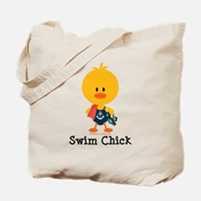 Anchor Swim Chick Tote Bag
