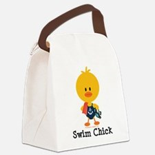 Anchor Swim Chick Canvas Lunch Bag