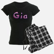 Gia Pink Giraffe Pajamas
