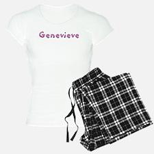 Genevieve Pink Giraffe Pajamas