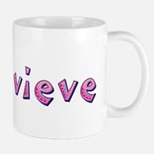 Genevieve Pink Giraffe Mugs