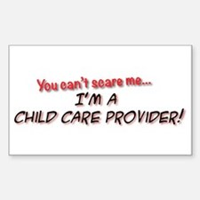 You Cant Scare Me - Im A Child Decal