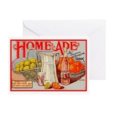 Home Ade Homemade DIY Kitchen Vintag Greeting Card
