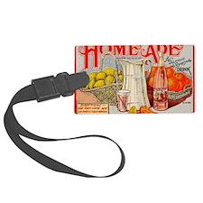 Home Made Lemon Ade DIY Hipster  Luggage Tag