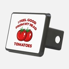 I Feel Good From My Head Tomatoes Hitch Cover