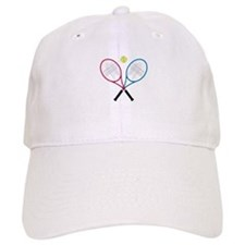 Tennis Rackets Baseball Cap