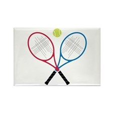 Tennis Rackets Magnets