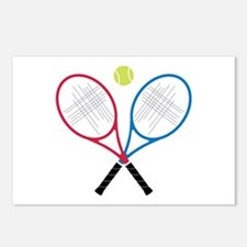 Tennis Rackets Postcards (Package of 8)