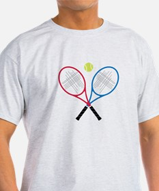 Tennis Rackets T-Shirt