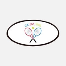 Live, Love, Tennis Patches