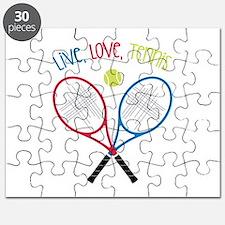 Live, Love, Tennis Puzzle