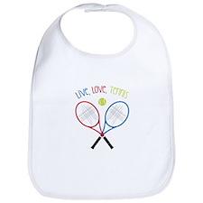 Live, Love, Tennis Bib