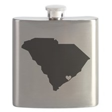 Charleston Love Flask