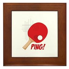 Ping! Framed Tile