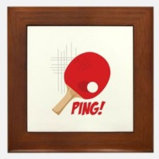 Ping! Framed Tile