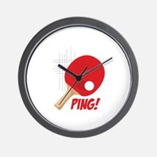 Ping! Wall Clock