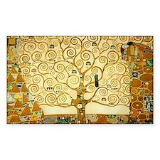 Gustav Klimt Tree Of Life Decal