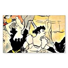 Toulouse-Lautrec - The Ball, p Decal