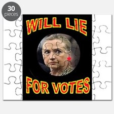 HLLARY LIES Puzzle