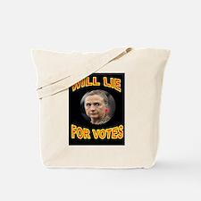 HLLARY LIES Tote Bag