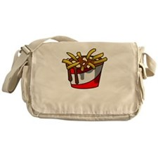 Greasy Poutine Messenger Bag