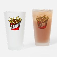 Greasy Poutine Drinking Glass