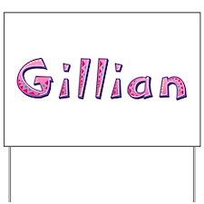 Gillian Pink Giraffe Yard Sign