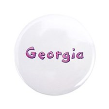 Georgia Pink Giraffe Big Button