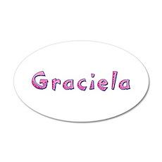 Graciela Pink Giraffe Wall Decal