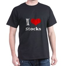i love (heart) stocks T-Shirt