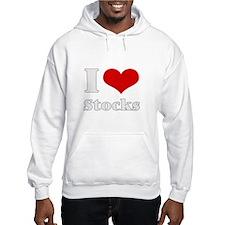 i love (heart) stocks Hoodie
