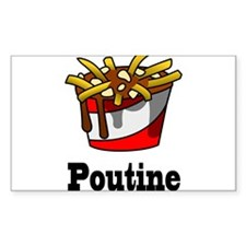 The Greasy Poutine Decal