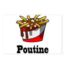 The Greasy Poutine Postcards (Package of 8)