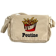 The Greasy Poutine Messenger Bag