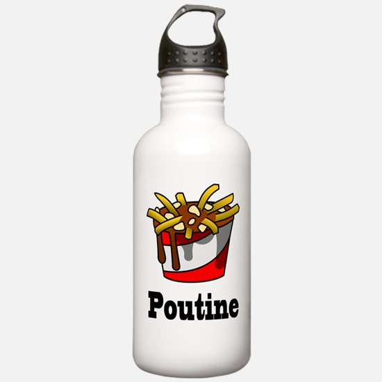 The Greasy Poutine Water Bottle