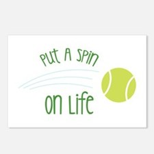 Put A Spin On Life Postcards (Package of 8)