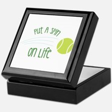 Put A Spin On Life Keepsake Box