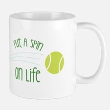 Put A Spin On Life Mugs