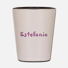 Estefania Pink Giraffe Shot Glass