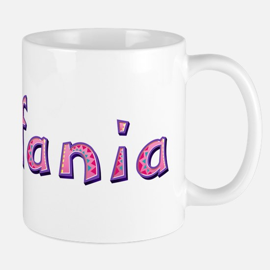 Estefania Pink Giraffe Mugs