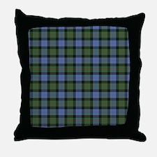 Tartan - Gunn Throw Pillow